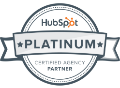 hubspot logo platinum